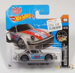 Hot Wheels 2017 r. Porsche 934 Turbo 68/365  DTY84