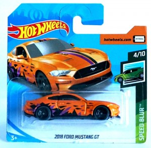 Hot Wheels 2019 r. Ford Mustang GT 113/250 FYD37