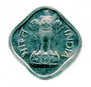 Indie 1 Paise 1967 r.