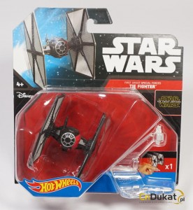 Hot Wheels 2016 r. Star Wars Tie Fighter CKJ67