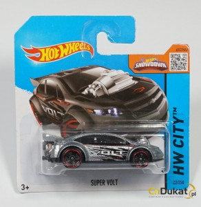 Hot Wheels 2015 r. Super Volt 22/250  CFL20