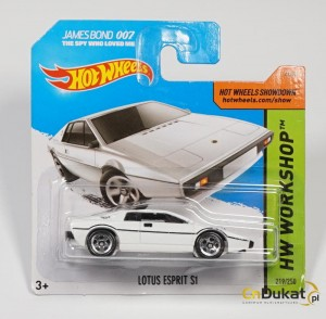 Hot Wheels 2015 r. Lotus Esprit S1 219/250  CFG74