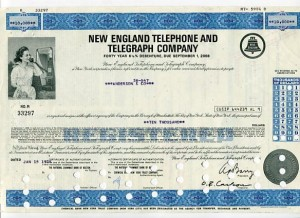 Akcja New England Telephone And Telegraph Company 1976 r.