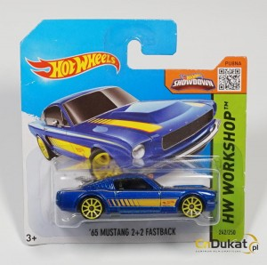 Hot Wheels 2015 r. Mustang Fastback 242/250  CFJ19