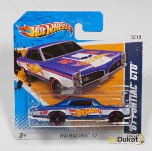 Hot Wheels 2012 r. Pontiac GTO 173/247  V5477
