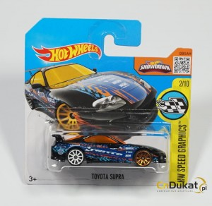 Hot Wheels 2016 r. Toyota Supra 177/250  DHX55