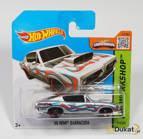 Hot Wheels 2015 r. Hemi Barracuda 213/250  CFL55